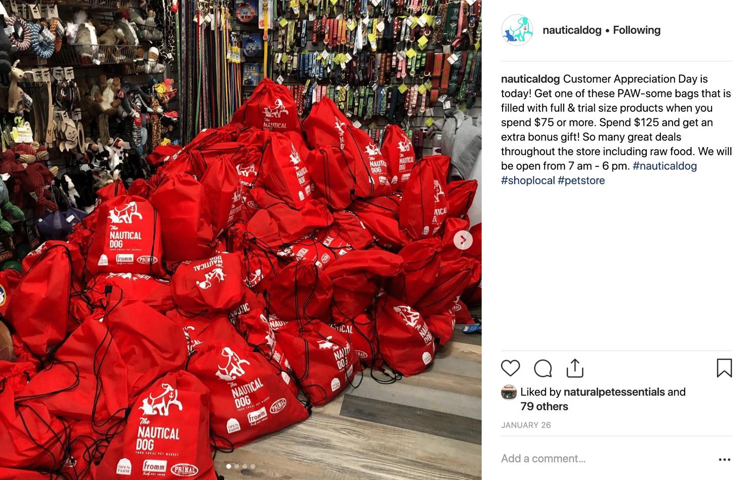 Nautical Dog - Goodie Bags