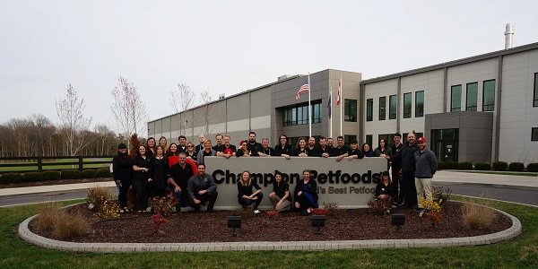 pet food experts team at champion petfoods dogstar kitchens