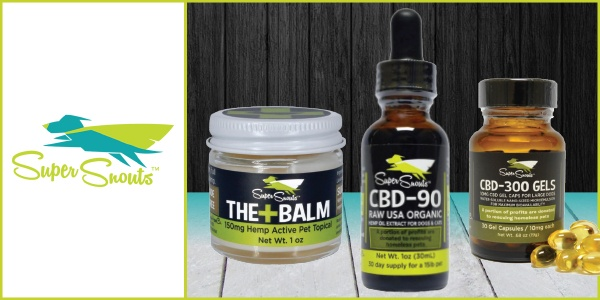 New CBD Products from Super Snouts Hemp Company