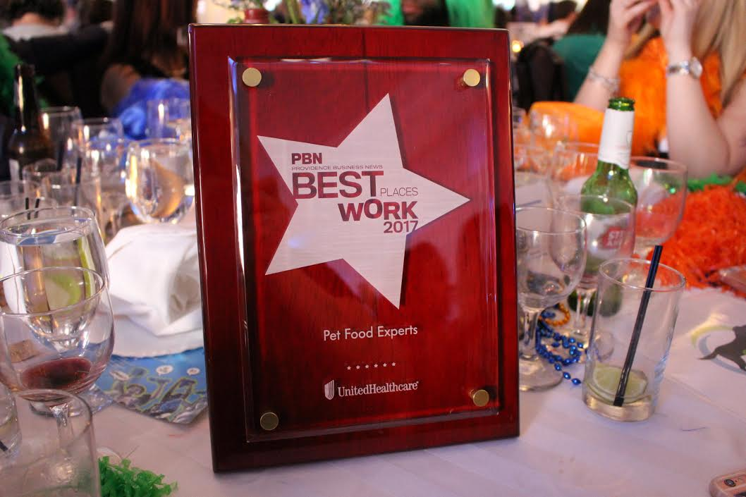 Pet Food Experts Named One of the Best Places to Work in Rhode Island