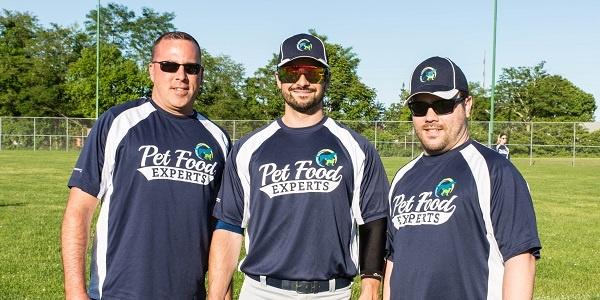 Pet Food Experts softball season begins